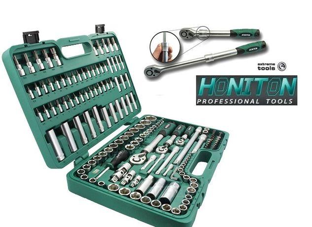 Zestaw kluczy nasadowych HONITON 155cz H4351