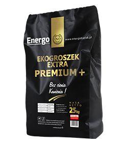 Ekogroszek Extra Premium + plus Energo Eco 25 kg Szczekociny worki