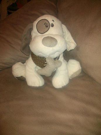 Мягкая игрушка, Собака, собачка с косточкой.