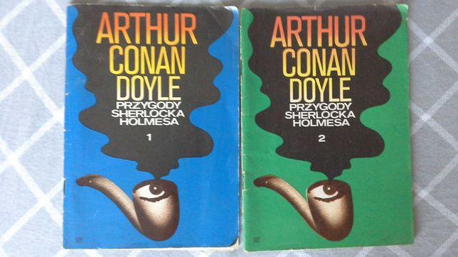 Przygody Sherlocka Holmesa część 1 i 2 - Arthur Conan Doyle