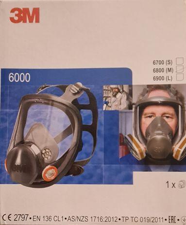 Maska 3M 6800 pełnotwarzowa