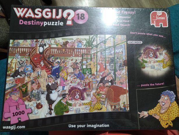 Puzzle Wasgij 18 Destiny Nowe w Folii