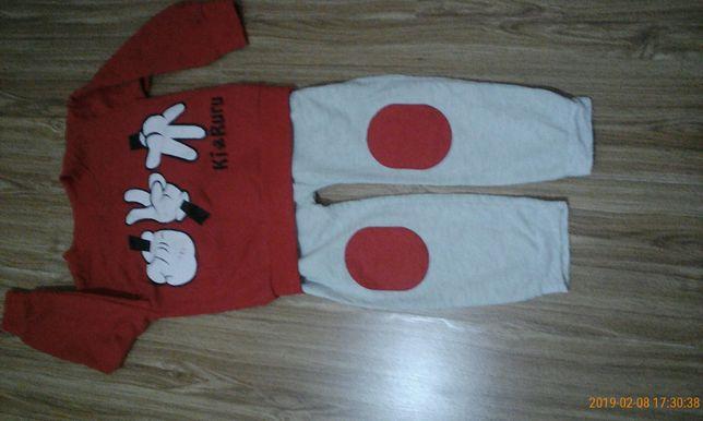 штани-кофти зима для хлопчика
