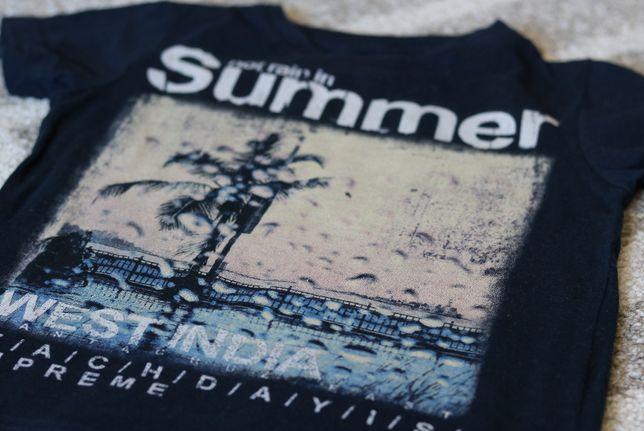 Koszulka, krótkie spodenki, zestaw 92, H&M,