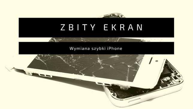Naprawa wymiana refabrykacja szyby szybki Iphone 6 6s 7 8 SE X Xr 11