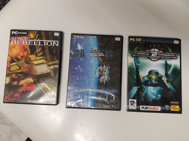 Jogos PC:Space Rebellion, Space Station Manager, Space Rangers2 Reboot