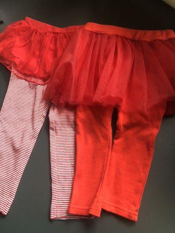 Лосины с фатиновой юбкой рост 74 см