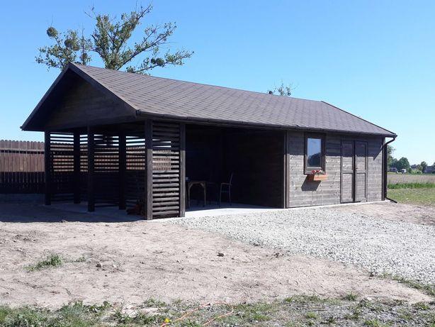 Garaż domek domki letniskowe