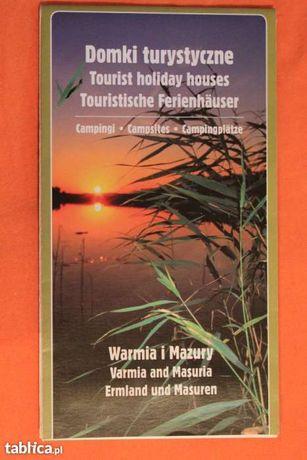 Warmia i Mazury-mapa-domki turystyczne-campingi-557