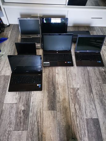Laptopy 17szt  zamiana na