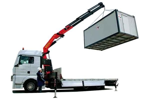 Transport HDS , transport kontenerów maszyn materiałów budowlanych