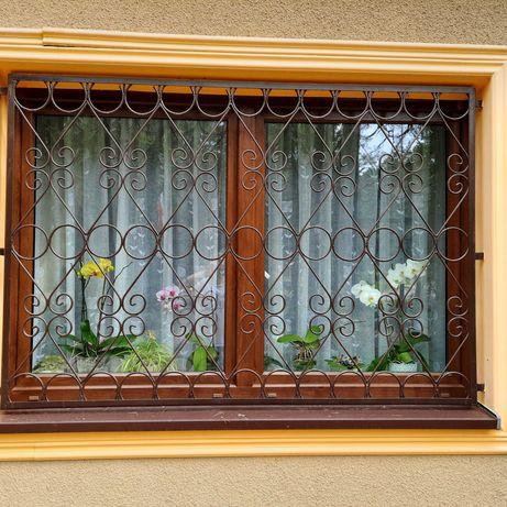 Kraty okienne ozdobne