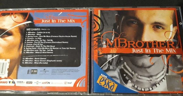 MBrother ‎– Just In The Mix, 2006 PŁYTA CD , I Wydanie , Super Stan