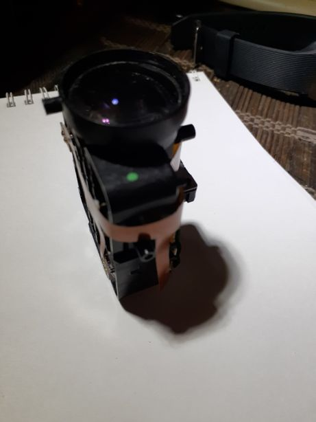 Оптика IP камеры видеонаблюдения с сервоприводом