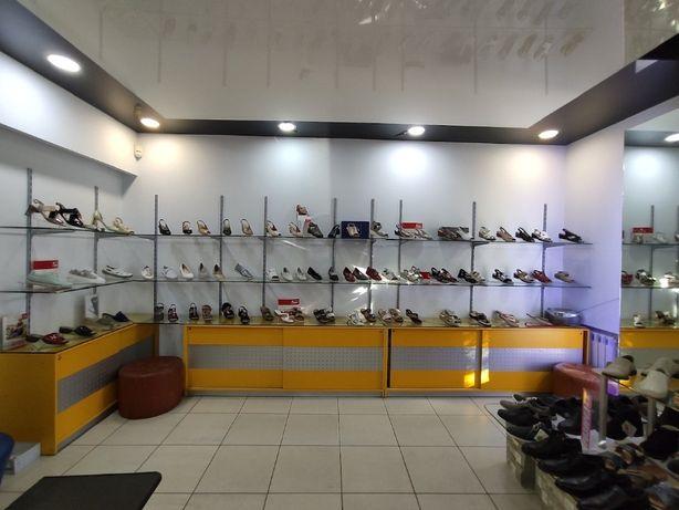 Оборудование для обувного магазина - шкафы, полки, стеллажи. ДЕШЕВО!