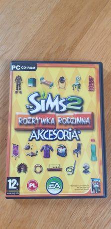 Dodatek The Sims 2 Rozrywka rodzinna, akcesoria