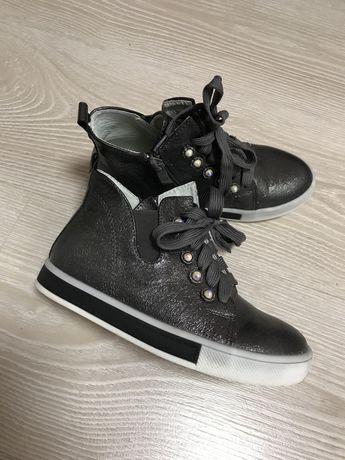 Кроссовки ,хайтопы, Ботинки на девочку