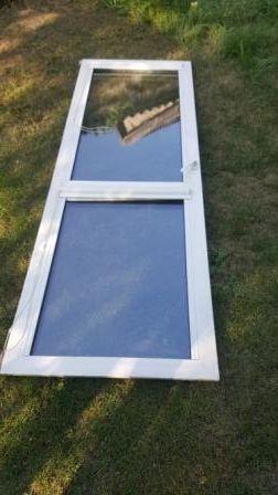 drzwi balkonowe używane w bdb stanie z roletą
