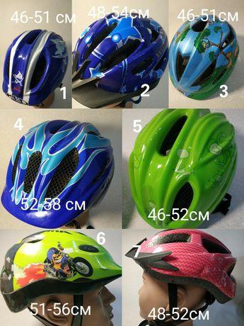 Шлемы детские велосипедные для самоката роликов uvex alpina ked giro