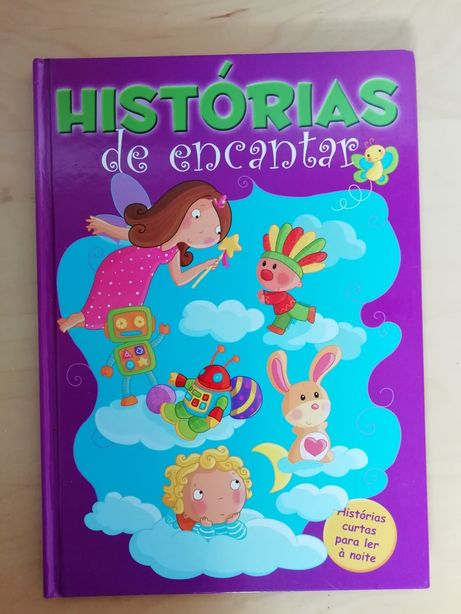 2 Livros coleção: Histórias de Encantar COMO NOVOS!