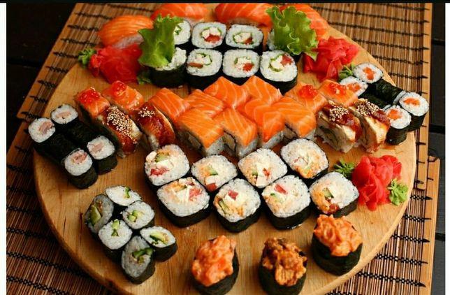 Изготовление суши на заказ