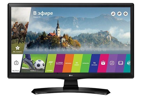 Телевізор LG 28TN515s-smart tv,має т2