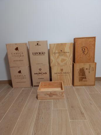 Caixas Vinho de Madeira