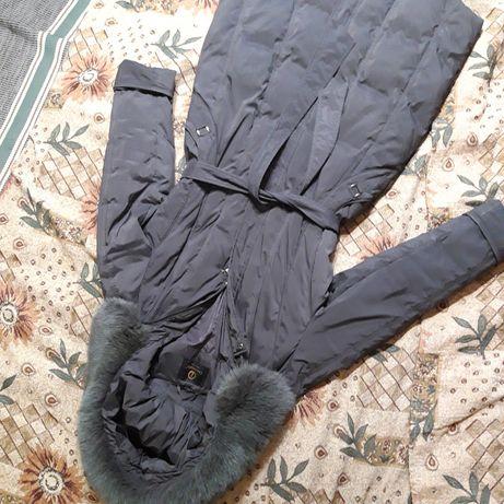 Пальто-пуховик 50 размер