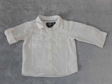 Koszula chłopięca lniana. H&M L.O.G.G. 68