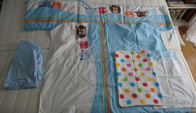 Komplet pościeli mini mini do łóżeczka dziecięcego