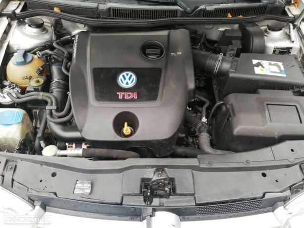 Motor Volkswagen Golf Bora 1.9Tdi 150cv ARL Caixa de Velocidades Automatica + Motor de Arranque  + Alternador + compressor Arcondicionado + Bomba Direção