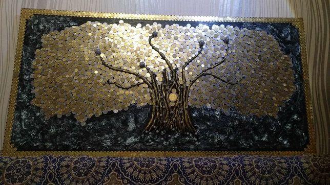 Картина, панно, денежное дерево
