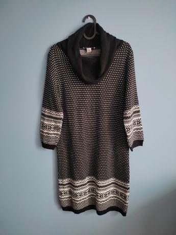 Tunika sweter sukienka Anna Field, rozmiar 40, czarna