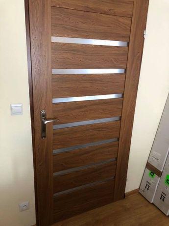 Drzwi wewnętrzne dąb retro