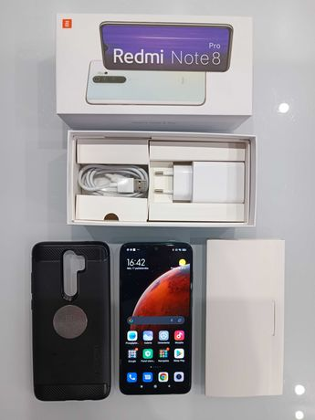 Redmi Note 8 Pro - 64GB ROM/6GB ROM - stan bardzo dobry