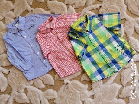 Рубашка сорочка baby club Zara Tom Tailor 1-1,5 года