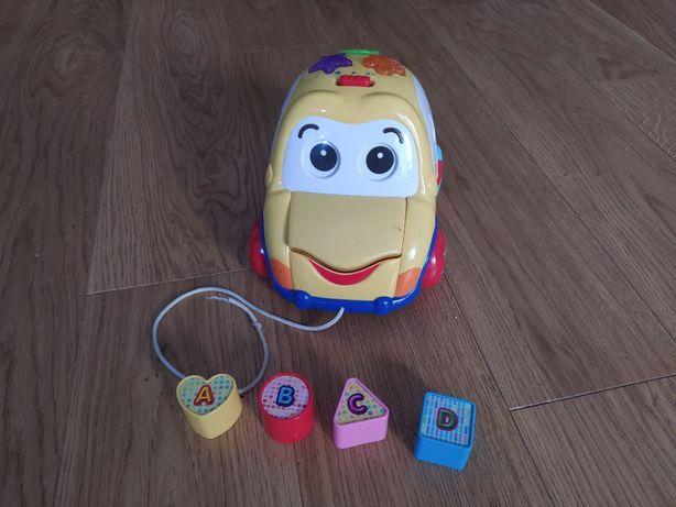 Sorter Auto Wesołek - Smily Play - zabawka interaktywna samochodzik