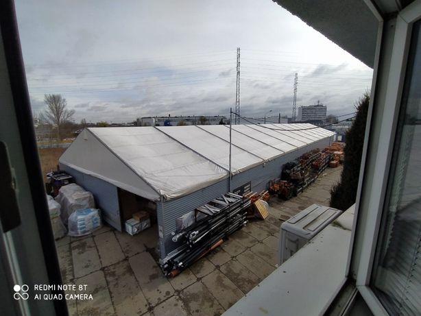 Hala namiotowa 60m X 15m X 3m (namiot magazynowy)