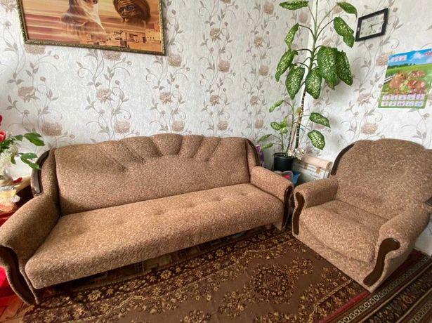 Диван и 2 кресла на дачу