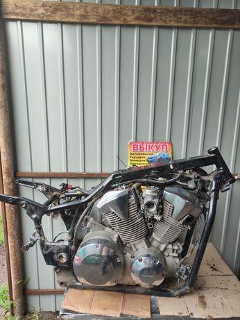 Двигатель мотор рама honda Honda VTX 1300 есть видео работы свап