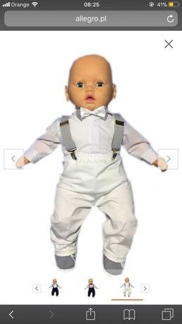 Ubranie do chrztu dla niemowlaka rozmiar 62