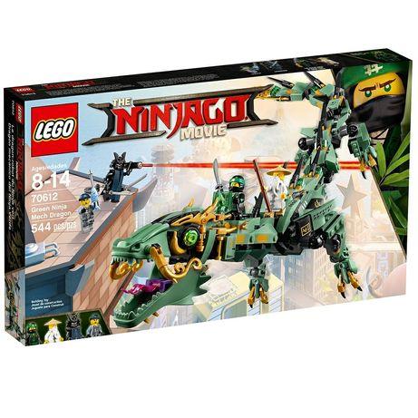 """Новый набор LEGO Ninjago """"Механический Дракон Зеленого Ниндзя"""" (70612)"""