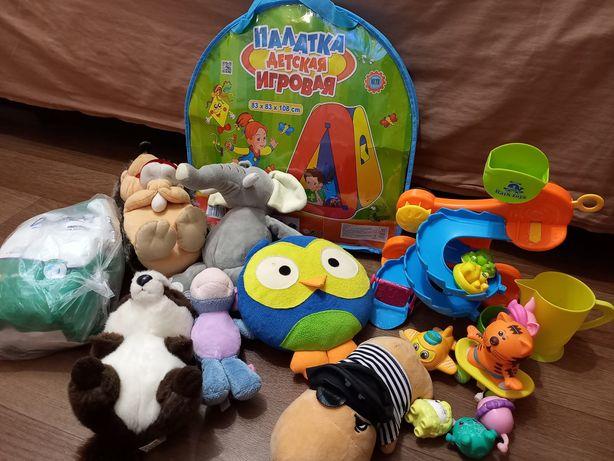 Детская игровая палатка Водная горка для купания Мягкие игрушки Дешево