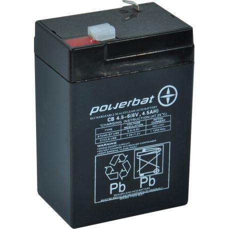 Akumulator żelowy AGM 6v4,5Ah Do zabawki jeździka Latarka waga