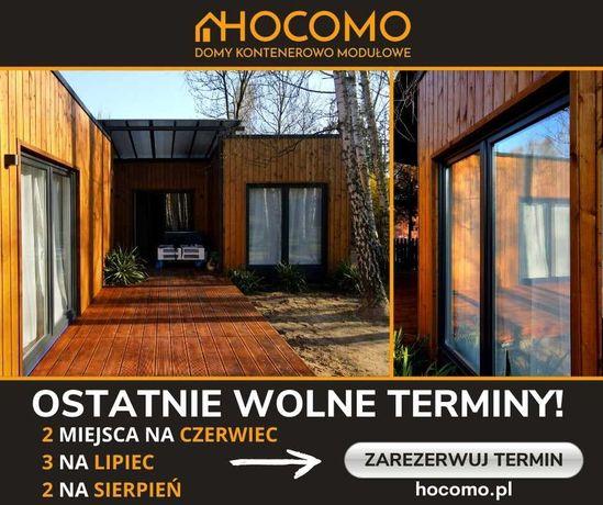 Dom modułowy Hocomo, 34,5m2 na zgłoszenie, całoroczny domek mieszkalny