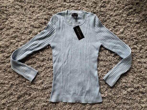 Sweter New Look XXL 44 nowy błękitny