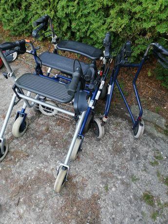 Podpory dla osób starszych czterokołowe oraz trójkołowe z Niemiec