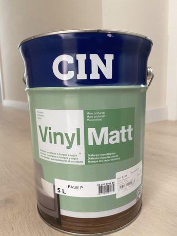 Tinta CIN VinylMatt 5L - Azul Madrepérola