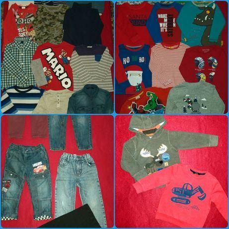 Ковты,регланы,джинсы на мальчика 2-3 года .