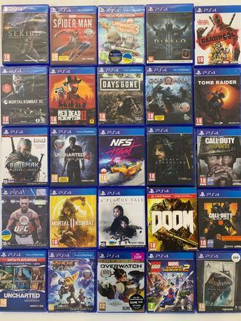 Игры Sony PS4, PS3. Обмен, прокат, игры пс4. Магазин